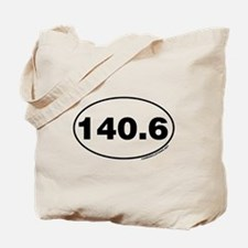 140.6 Miles Tote Bag