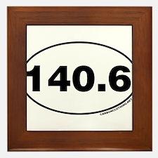 140.6 Miles Framed Tile