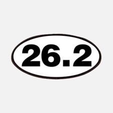 26.2 Miles Patches