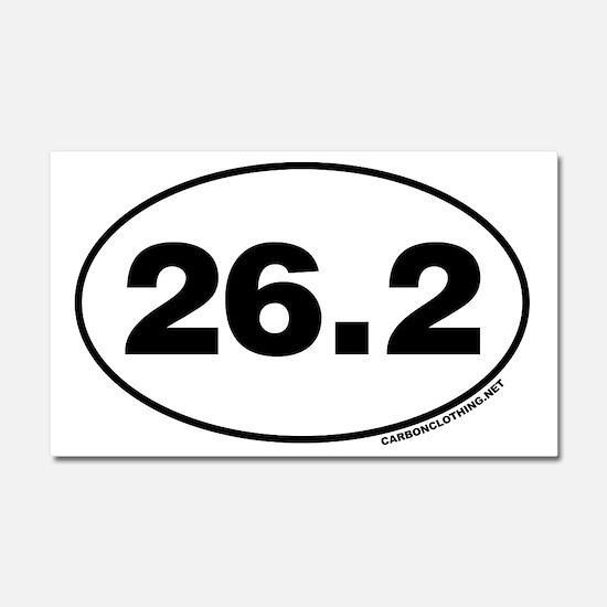 26.2 Miles Car Magnet 20 x 12