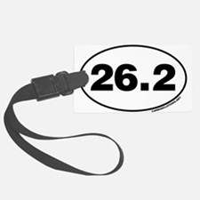 26.2 Miles Luggage Tag