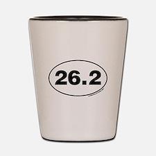26.2 Miles Shot Glass