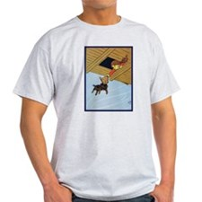 In the Cyclone 2 Ash Grey T-Shirt