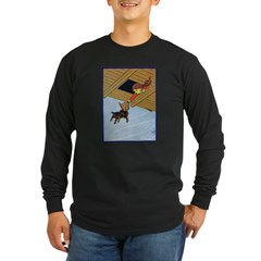 In the Cyclone 2 Long Sleeve Dark T-Shirt