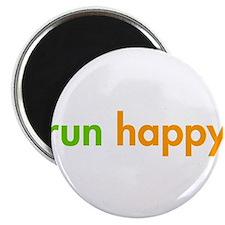 run-happy-fut-green-orange Magnet