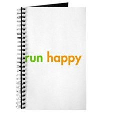 run-happy-fut-green-orange Journal