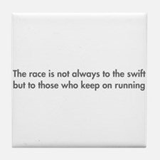 race-is-not-always-to-the-swift-fut-gray Tile Coas