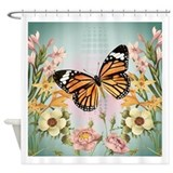 Butterfly Shower Curtains