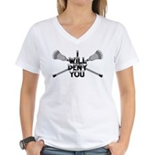 Lacrosse I WILL DENY YOU T-Shirt