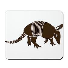 armadillo gürteltier sloth faultier Mousepad