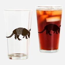 armadillo gürteltier sloth faultier Drinking Glass