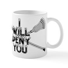 Lacrosse I Will Deny You Shorty Mug