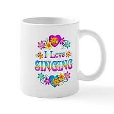 I Love Singing Mug