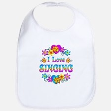 I Love Singing Bib