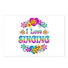 I Love Singing Postcards (Package of 8)
