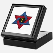 Hexagram Tau Patch Keepsake Box