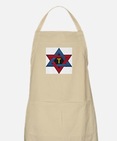 Hexagram Tau Patch Apron