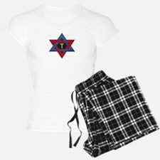 Hexagram Tau Patch Pajamas