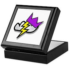 Lightning Strike Crown Keepsake Box