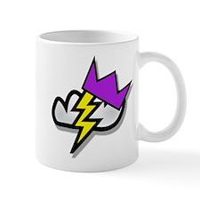 Weather Princess storm cloud logo Mug
