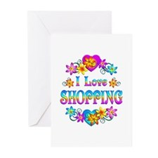 I Love Shopping Greeting Cards (Pk of 10)