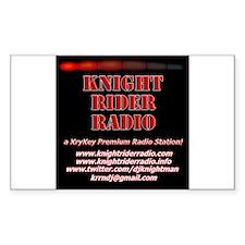 KNIGHT RIDER RADIO STATION LOGO Decal