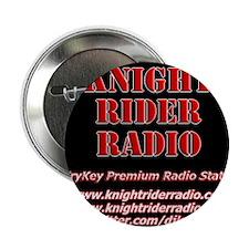 "KNIGHT RIDER RADIO STATION LOGO 2.25"" Button"