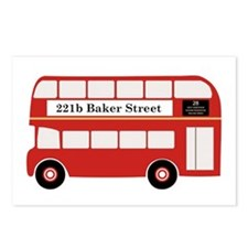 Baker Street Bus Postcards (Package of 8)