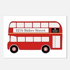 Baker Street Bus Postcards (Package of 8)