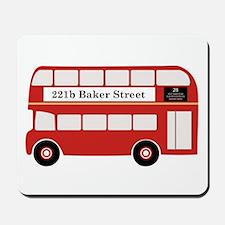 Baker Street Bus Mousepad