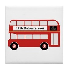 Baker Street Bus Tile Coaster