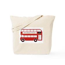 Baker Street Bus Tote Bag
