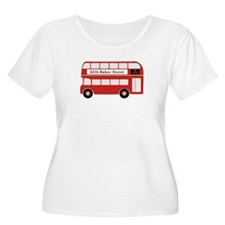 Baker Street Bus Plus Size T-Shirt