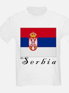 Serbia Kids T-Shirt
