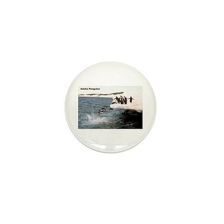 Adelie Penguins Mini Button