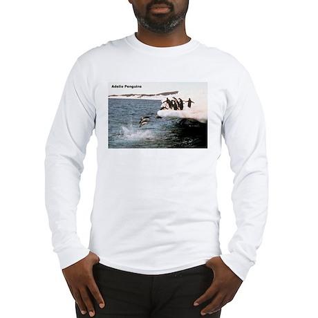 Adelie Penguins Long Sleeve T-Shirt