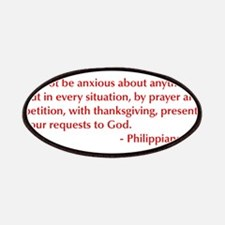 Philippians-4-6-opt-burg Patches