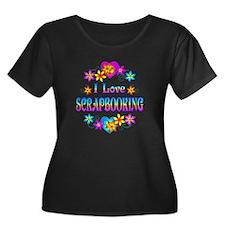 I Love Scrapbooking T