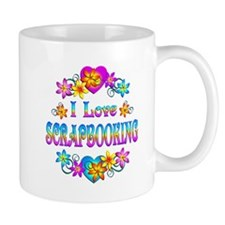 I Love Scrapbooking Mug