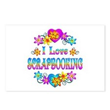 I Love Scrapbooking Postcards (Package of 8)
