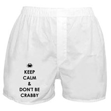 DON'T BE CRABBY Boxer Shorts