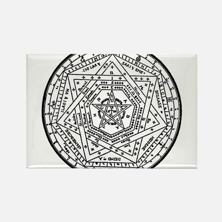 Sigillum Dei Aemeth Rectangle Magnet
