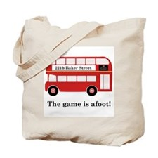 Game Is Afoot Tote Bag