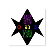 93 Hexagram Sticker