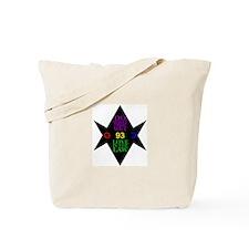 93 Hexagram Tote Bag