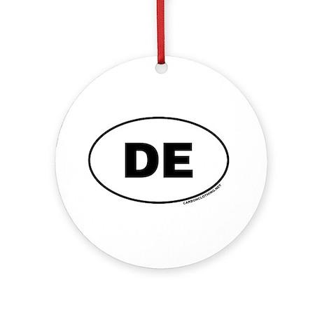 Delaware, DE Ornament (Round)