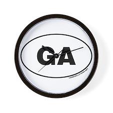 Georgia, GA Wall Clock