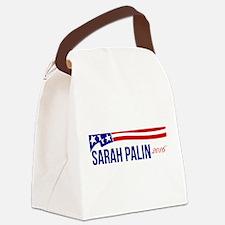 Sarah Palin 2016 Canvas Lunch Bag