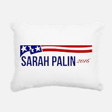 Sarah Palin 2016 Rectangular Canvas Pillow