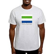 Sierra Leone Ash Grey T-Shirt